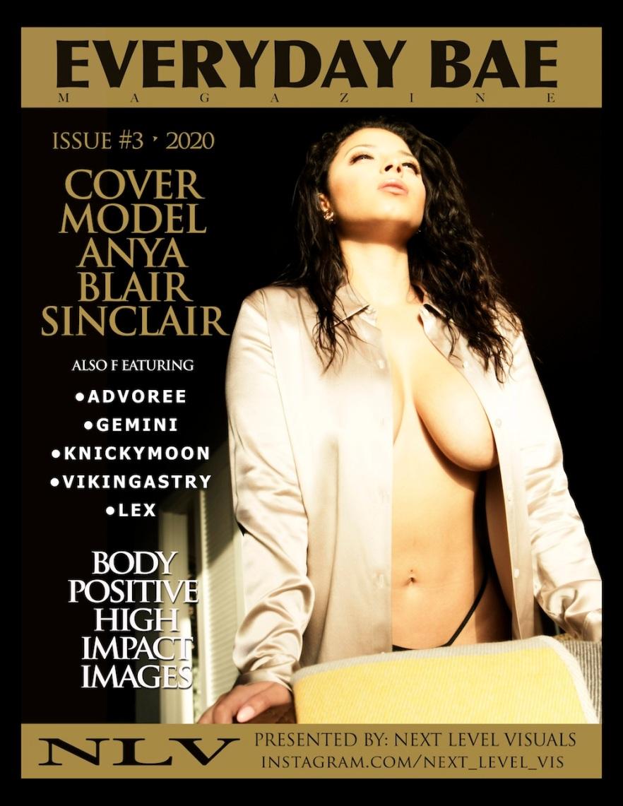 everyday bae magazine cover model anya blair sinclair